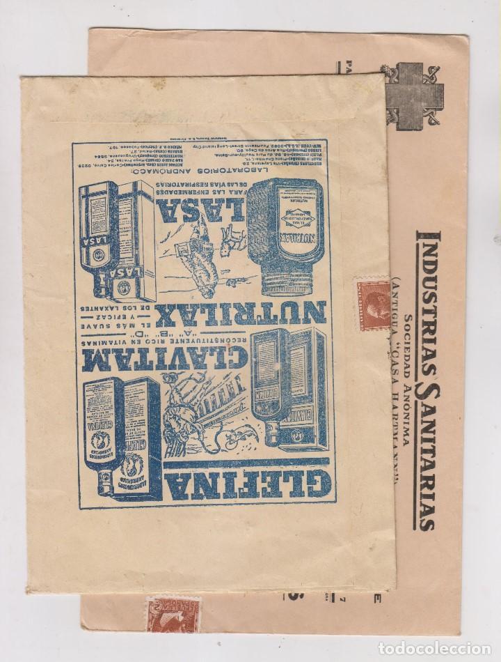 Sellos: LOTE DE 26 SOBRES PUBLICITARIOS. II REPÚBLICA Y ALFONSO XIII - Foto 13 - 206197547