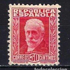 Sellos: 1931-1932 ESPAÑA EDIFIL 659 PERSONAJES MG* NUEVO SIN GOMA CON FIJASELLOS. Lote 206805798