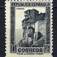 Sellos: 1932-1934 ESPAÑA EDIFIL 673 CUENCA MNH** NUEVO SIN FIJASELLOS. Lote 206806990