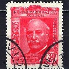 Sellos: 1936 ESPAÑA EDIFIL 702 ASOCIACIÓN DE LA PRENSA USADO. Lote 206808182
