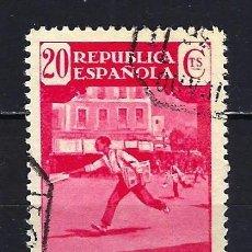 Sellos: 1936 ESPAÑA EDIFIL 710 ASOCIACIÓN DE LA PRENSA CORREO URGENTE USADO. Lote 206808307