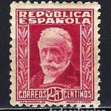 Sellos: 1932-1934 ESPAÑA EDIFIL 667 PERSONAJES MNH** NUEVO SIN FIJASELLOS. Lote 207202711