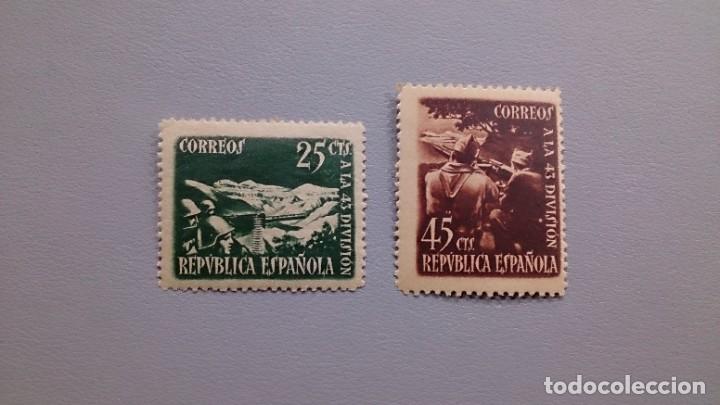 ESPAÑA - 1938 - II REPUBLICA - EDIFIL 787/788 - SERIE COMPLETA - MNH**/* - NUEVOS. (Sellos - España - II República de 1.931 a 1.939 - Nuevos)