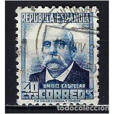Selos: 1932-1934 ESPAÑA PERSONAJES EDIFIL 670 USADO. Lote 208580631