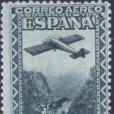 Sellos: EDIFIL 654 IX CENTENARIO DE LA FUNDACIÓN DE MONTSERRAT 1931. VALOR CATÁLOGO: 48 €. LUJO. MNH **. Lote 210562387