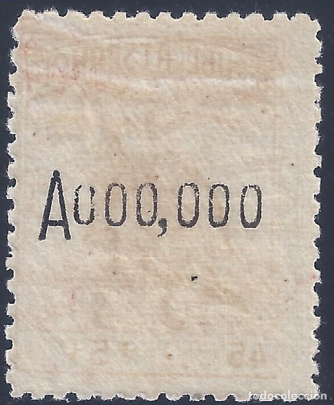 Sellos: EDIFIL 767N CRUZ ROJA ESPAÑOLA 1938 (VARIEDAD...MUESTRA A000,000) VALOR CATALOGO: 92 €. LUJO. MNH ** - Foto 2 - 210762152