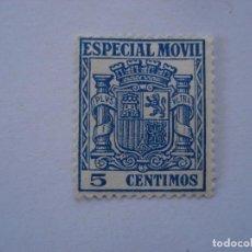 Sellos: TIMBRE ESPECIAL MOVIL 5 CENTIMOS. Lote 210814527