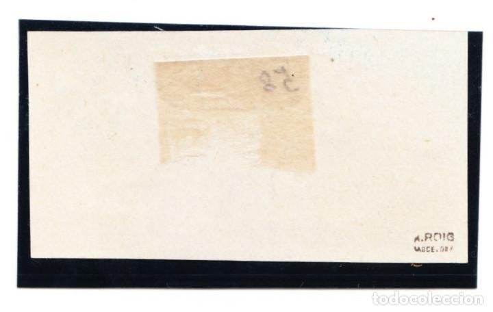 Sellos: 1938 CORREO SUBMARINO REPÚBLICA ESPAÑOLA 775ccas NUEVO CON CHARNELA Y MARQUILLA A.ROIG - Foto 2 - 210969454