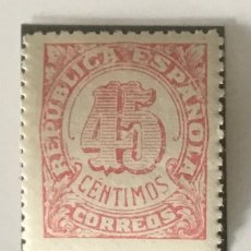 Sellos: 1938-ESPAÑA EDIFIL NE 29 MNH** NO EXPENDIDO NE29 - SELLO NUEVO SIN CHARNELA -. Lote 213524818