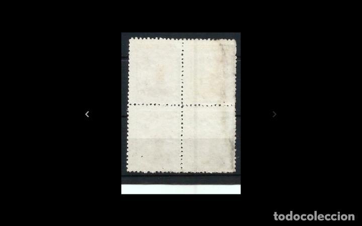 Sellos: ESPAÑA - 1939 - II REPUBLICA - EDIFIL NE 52 - BLOQUE DE 4 - MNG - NUEVOS - VALOR CATALOGO 175€. - Foto 2 - 215917962