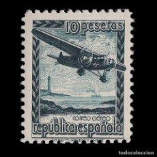 Sellos: 1939.AVIÓN VUELO.10P NUEVO*.MH.EDIFIL.NE 38. Lote 216971548