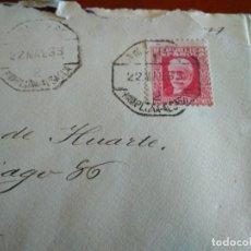 Sellos: SOBRE CON SELLO DE LA SEGUNDA REPÚBLICA - ALSASUA PAMPLONA - 1933. Lote 217166906
