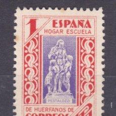 Sellos: LL19- BENÉFICO HUÉRFANOS CORREOS EDIFIL 16 VARIEDAD PAPEL CARTON . (*) SIN GOMA. Lote 218750451