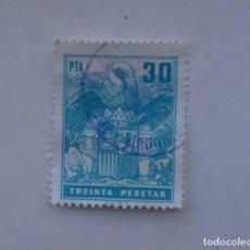 Sellos: SELLO,ESPAÑOL,TIMBRES ESPECIAL PARA FACTURAS Y RECIBOS ( SELLO DE 3 0 PTS). Lote 218983836