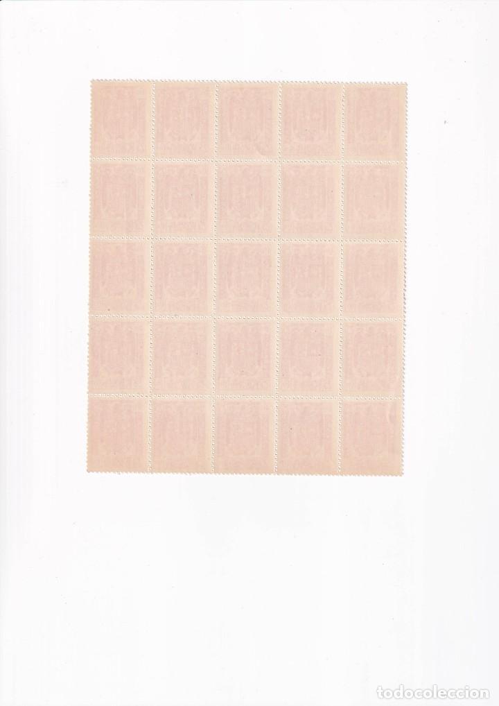 Sellos: Sellos España timbres especial para facturas y recibos bloque de 25 nuevo - Foto 2 - 219000756