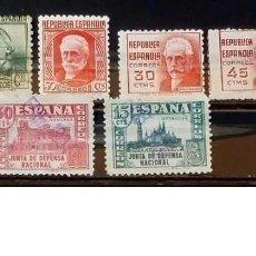 Sellos: SELLOS ESPAÑA 1936 - FOTO 991 - Nº 731, USADO. Lote 219123066