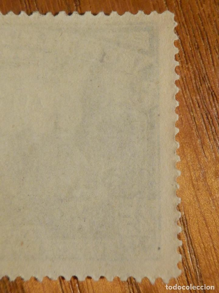 Sellos: EDIFIL Nº 759 Defensa Madrid - Aereo + 5 Pesetas - AÑO 1938, CON GOMA, SIN FIJASELLOS Catálogo 900 € - Foto 5 - 219525700
