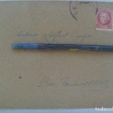 Sellos: GUERRA CIVIL: SOBRE DE VALENCIA A MILITAR DE 101ª DIVISION TRANSMISIONES, BASE TURIA Nº 1, 1939. Lote 220984410