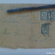 Sellos: GUERRA CIVIL: SOBRE DE VALENCIA A MILITAR DE 61ª TRANSMISIONES, BASE TURIA . REPUBLICA, 1938. Lote 221012157