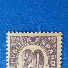 Selos: NUEVO **. AÑO 1938. EDIFIL 748. CIFRAS.. Lote 221124410