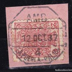 Sellos: CL12-34- FISCAL POSTAL MÓVIL MATASELLOS AMBULANTE 4 LA PUEBLA - PALMA. Lote 221265496