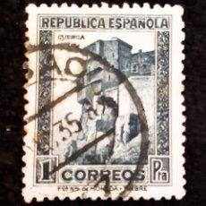 Sellos: SELLO DE LA REPÚBLICA ESPAÑOLA. IMAGEN DE CUENCA. AÑOS 30.. Lote 221463455