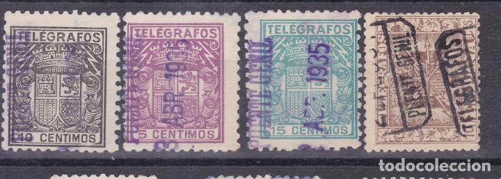 LL15- TELEGRAFOS USADOS PUENTE GENIL (CÓRDOBA) (Sellos - España - II República de 1.931 a 1.939 - Usados)