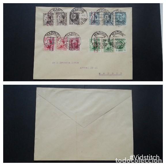 ESPAÑA. II REPUBLICA.AÑO 1932.CARTA. (Sellos - España - II República de 1.931 a 1.939 - Cartas)