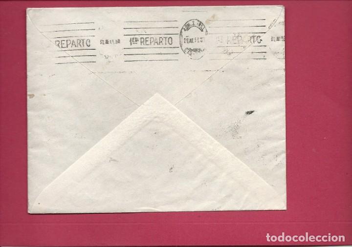 Sellos: II REPÚBLICA ESPAÑOLA. AÑO 1933. CARTA CIRCULACIÓN MADRID-MADRID. - Foto 2 - 222156022