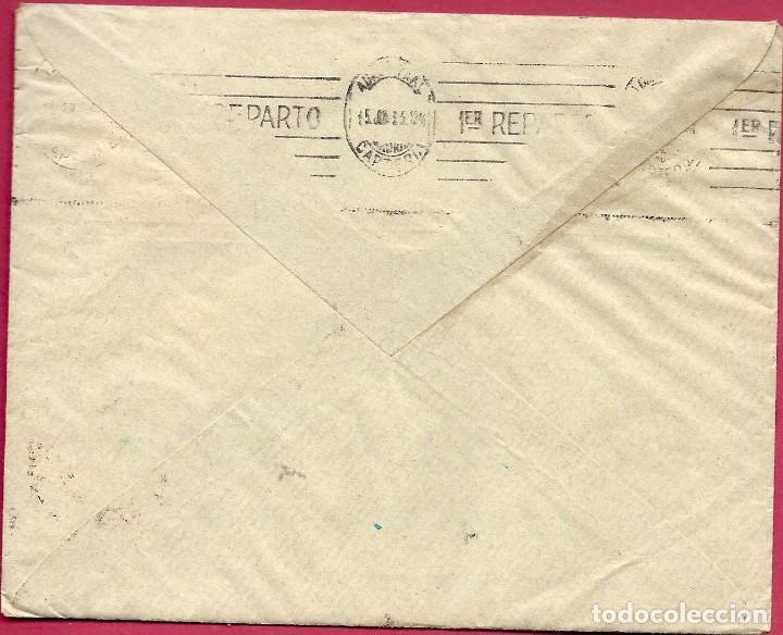Sellos: II REPÚBLICA ESPAÑOLA.CARTA CIRCULACIÓN 1933-1935. MADRID-MADRID. - Foto 2 - 222156327