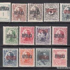 Sellos: EMISIONES LOCALES, BARCELONA, 1931 EDIFIL Nº 5 / 17 /*/. Lote 222167615