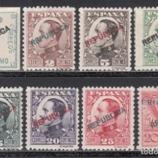 Sellos: EMISIONES LOCALES, MADRID, 1931 EDIFIL Nº 1 / 8 /*/. Lote 222168522