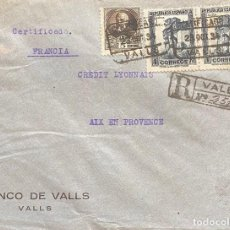 Sellos: ESPAÑA, SEGUNDA REPÚBLICA, CARTA CIRCULADA EN EL AÑO 1934. Lote 222304728