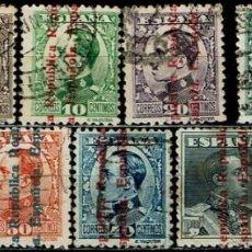 Sellos: ESPAÑA 1931 - EDIFIL 593/603. Lote 222542036
