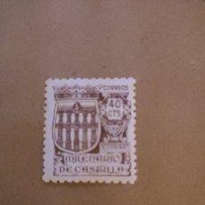Sellos: ESPAÑA - 1ER CENTENARIO 1901-49 SUELTOS - 1944 - CORREO - Nº 00978 - * - MILENARIO DE CASTILLA - BON. Lote 223274730