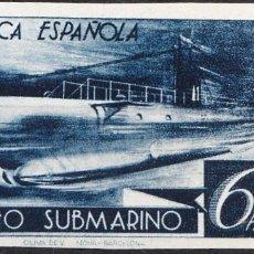 Sellos: 1938 CORREO SUBMARINO EDIFIL 778 6 PESETAS FIJASELLOS. Lote 223318035