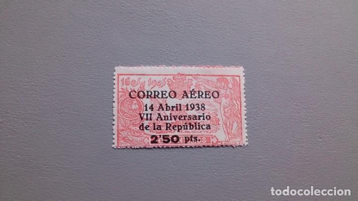 ESPAÑA - 1938 - II REPUBLICA - EDIFIL 756 - MNH** - NUEVO - VALOR CATALOGO 225€. (Sellos - España - II República de 1.931 a 1.939 - Nuevos)