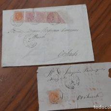 Selos: 2 SOBRES DE CARTAS ALICANTE - ORIHUELA. Lote 226441980