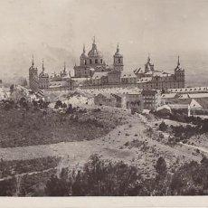 Francobolli: F29-2- POSTAL SAN LORENZO DEL ESCORIAL (MADRID) 1935. VIÑETA LOPE VEGA. SOC AUTORES DRAMÁTICOS. Lote 227134770
