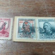 Sellos: SELLOS USADOS REPUBLICA ESPAÑOLA - SOBRECARGA MARRUECOS Y COMEDORES MUNICIPALES - VER FOTO. Lote 227631725