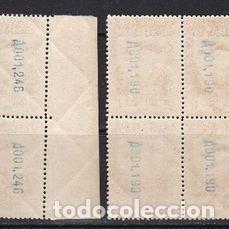 Sellos: Edifil 650 654 MNH ** bloque de 4 sellos España 1931 serie completa Fundacion Monasterio Montserrat - Foto 4 - 230692730