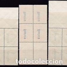 Sellos: Edifil 650 654 MNH ** bloque de 4 sellos España 1931 serie completa Fundacion Monasterio Montserrat - Foto 5 - 230692730