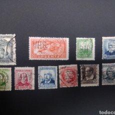 Sellos: LOTE DE SELLOS PERFORADOS. BHA. BANCO HISPANO AMERICANO. PERF.14/13/12 L1.. Lote 230803975