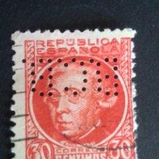 Sellos: SELLO PERFORADO. B.C.B. BANCO COMERCIAL DE BARCELONA. PERF. 12/8/12.. Lote 230838550
