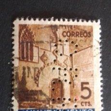 Sellos: SELLO PERFORADO C.R.R. COMPAÑÍA ROCA RADIADORES. PERF. 9/12/12.. Lote 230844980