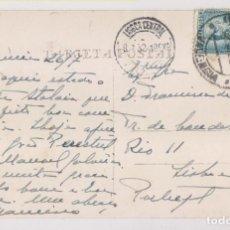 Sellos: POSTAL. VALENCIA. A LISBOA. ALCANCE NORTE. 1932. Lote 231708905