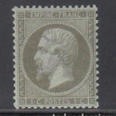 Sellos: FRANCIA. 1862 YVERT Nº 19 /**/. NAPOLEÓN III. 1 C. OLIVE. Lote 231808355