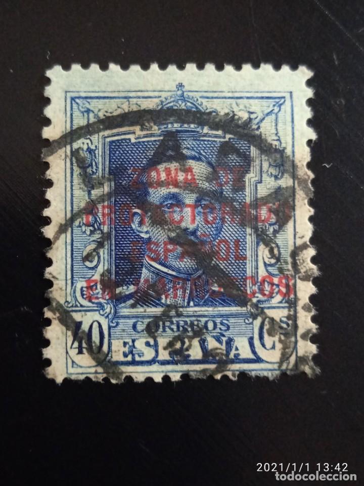 REPUBLICA ESPAÑOLA 40 CTS, ALFONSO XIII 1920.. (Sellos - España - II República de 1.931 a 1.939 - Usados)
