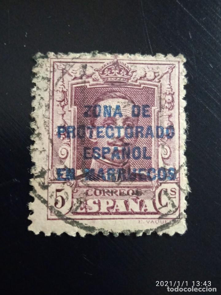 REPUBLICA ESPAÑOLA 5 CTS, ALFONSO XIII 1920.. (Sellos - España - II República de 1.931 a 1.939 - Usados)