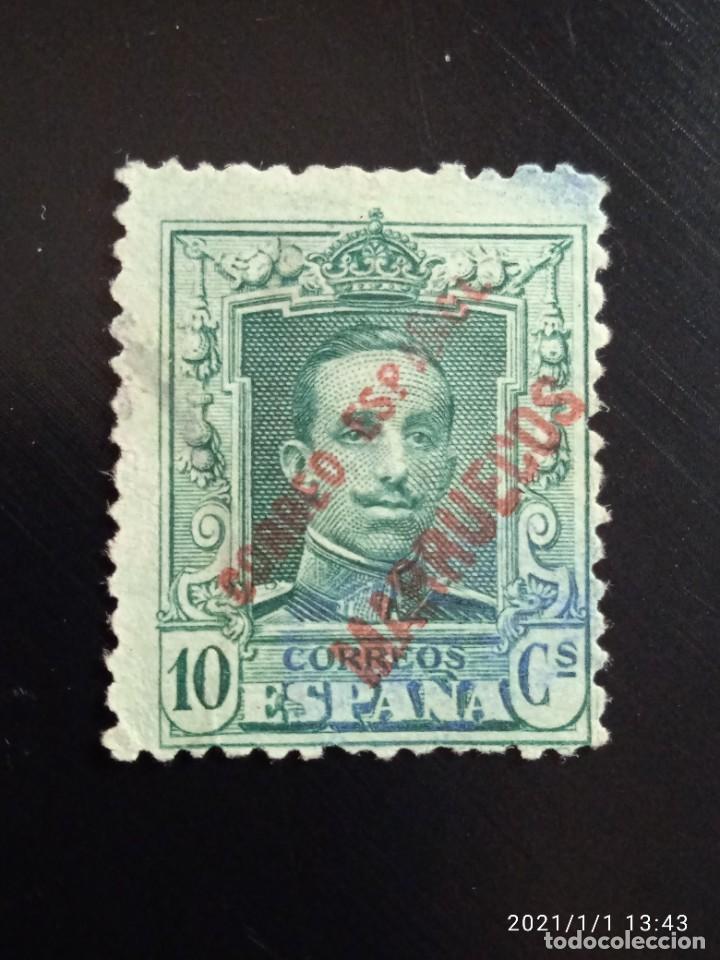 REPUBLICA ESPAÑOLA 10 CTS, ALFONSO XIII 1920.. (Sellos - España - II República de 1.931 a 1.939 - Usados)